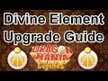Level 6 DIVINE Element Upgrade Guide - Dragon Mania Legends (Great Bless VS Mass Bless)