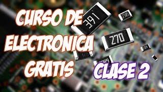 """Curso de Electrónica #2 Resistencias SMD """"lectura fácil"""""""