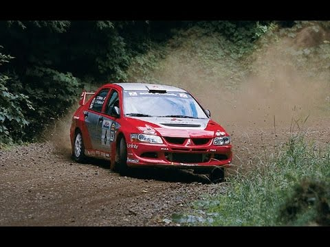 Mitsubishi Evo 8 Rally Car Youtube