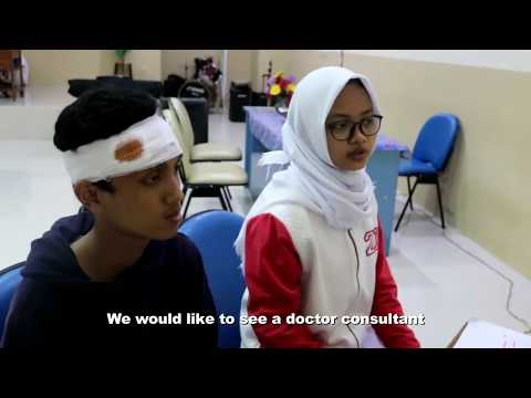 Role Playing - Offering Help in Hospital || XII-IPA 1 || SMAN 83 JAKARTA