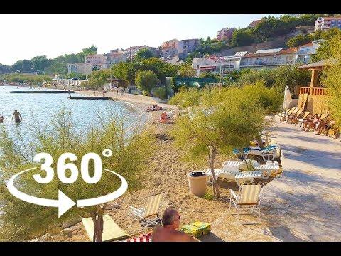 GOLUBINKA BEACH — OMIŠ | 360º VR | Pointers Travel