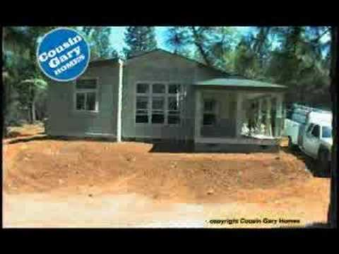 Cousin Gary Homes Time Lapse Manufactured Home Build Youtube