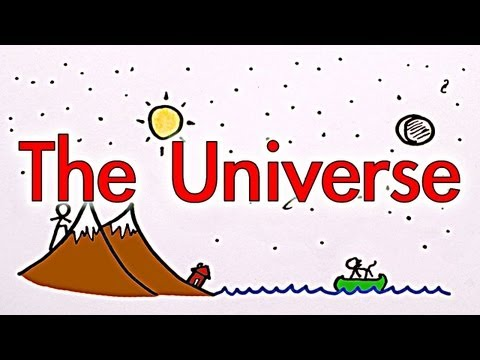 Video image: Learn about the universe (that's everything, right?)