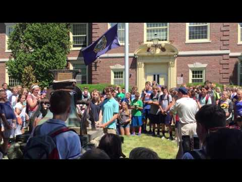Hampton Academy Bell Ringing