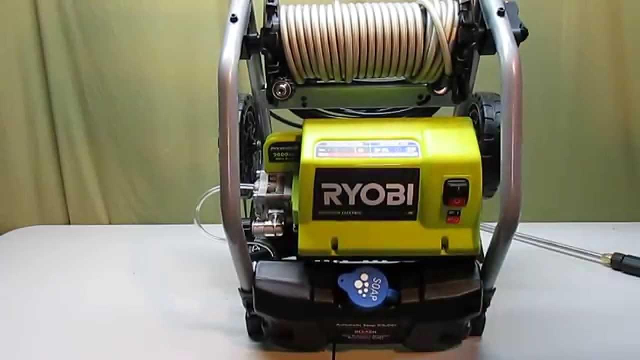 maxresdefault ryobi 2000 psi 1 2 gpm electric pressure washer youtube Ryobi Garage Motor Diagram at mifinder.co