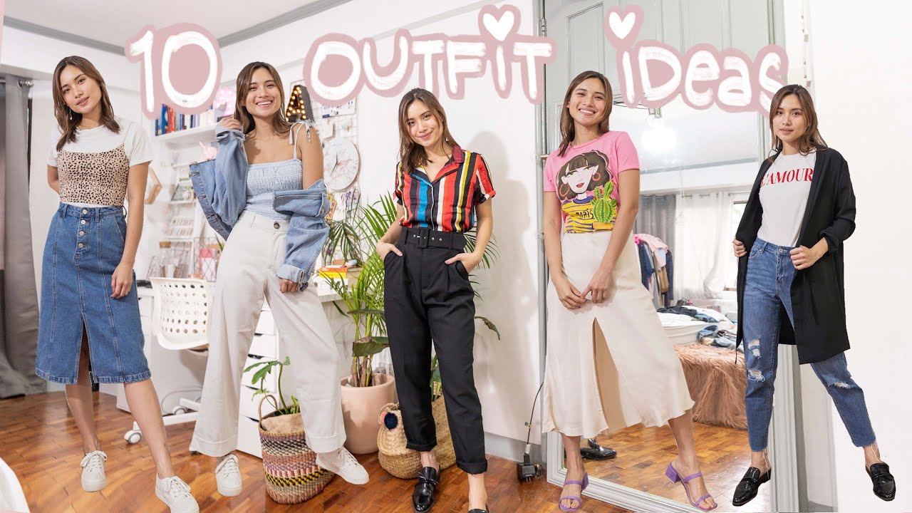 OUTFIT IDEAS 2019! BACK TO SCHOOL! | Angel Yeo 2