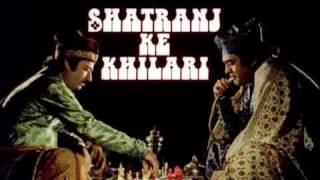 Chess in Cinema. Shatranj Ke Khilari (1977)
