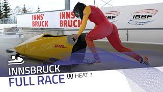 Innsbruck | Women's Monobob World Series Heat 1 | IBSF Official