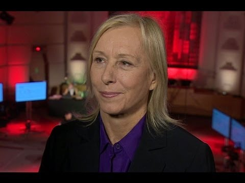 MARTINA NAVRATILOVA EMPOWERMENT OF WOMEN - BBC NEWS