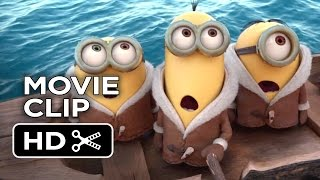 Minions Official Movie Clip #1 - New York (2015) - Despicable Me Prequel HD