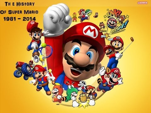 The History Of Super Mario (1981 - 2014)