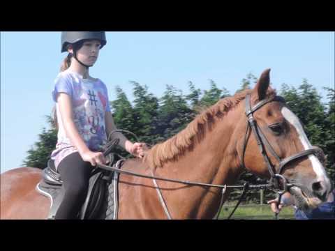 HORSE RIDING!   Vlog #1   LizzieBP