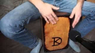 Кахон со струнами от гитары