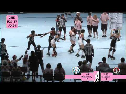 Star of Texas Bowl 2012: Windy City Rollers v Gotham Girls Roller Derby