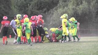 2015  - #35 Justin Ennis U12 Football Highlights (Partial)