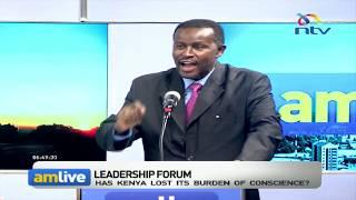 Has Kenya lost its burden of conscience? || Leadership forum