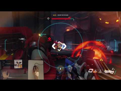 PS4 Logitech G502 - Overwatch - PLAYSTATION 4