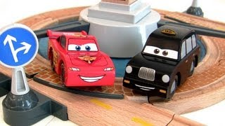 Cars 2 Wood London Grand Finale Track Set Collection Disney Pixar Toysrus Tru