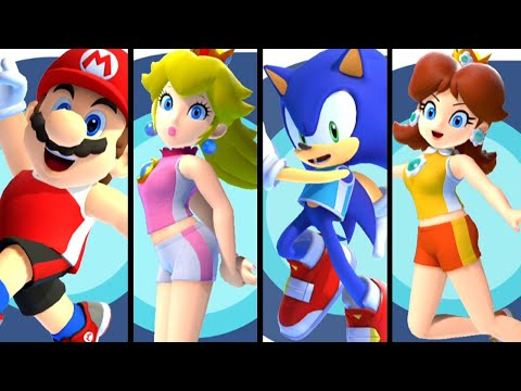 Mario and Sonic at the Olympic Games Tokyo 2020 ALL CHARACTERS (Switch)
