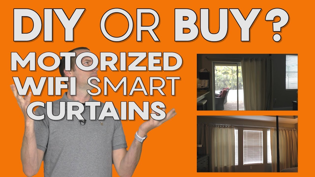 DIY or Buy – Motorized Smart Curtains – The