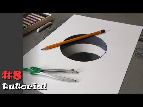 Как нарисовать кольцо карандашом