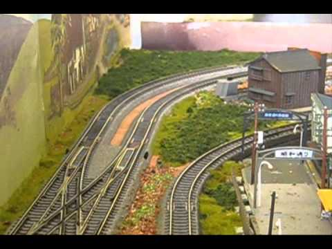 N SCALE JAPANESE LAYOUT