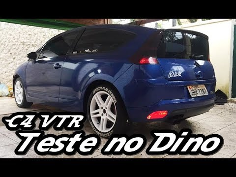 C4 VTR Stock no Dinamômetro + bônus