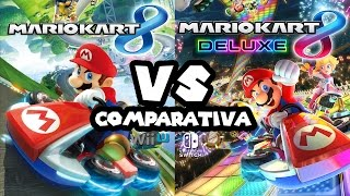 Comparativa – Mario Kart 8 (Wii U) VS Mario Kart 8 Deluxe (Switch)
