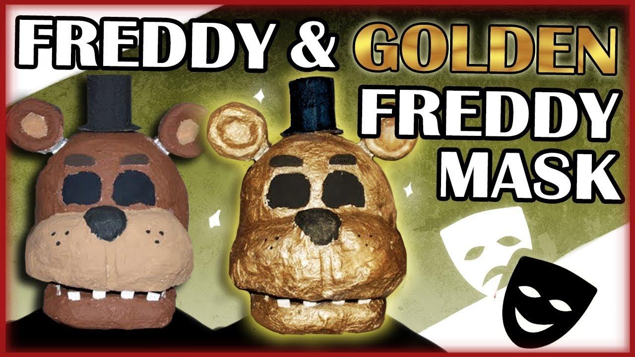 How to Make: Freddy/Golden Freddy Mask (FNAF)