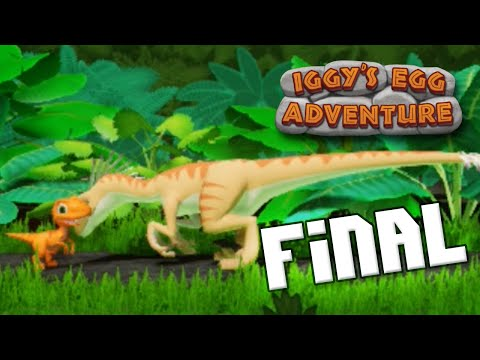 The End! | Iggy's Egg Adventure - Full Volcano Walkthrough - Ep6