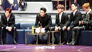 [HD] 161202 EXO Reaction to IOI Stage (Cute Baekhyun!) in MAMA HK