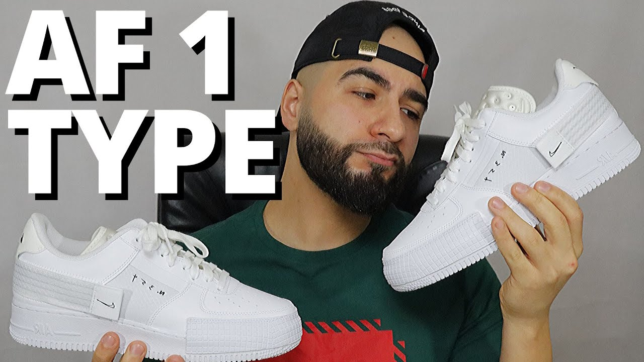 different types of nike air force 1