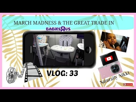 Choosing A Highchair Babies R Us | Vlog: 33