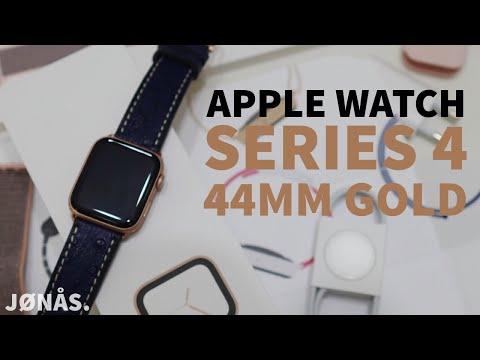 Apple Watch Series 4 Unboxing 44mm Gold Aluminium