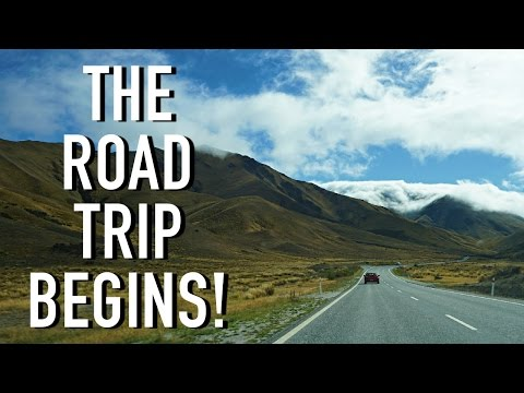 THE ROAD TRIP BEGINS!!! | South Island, New Zealand