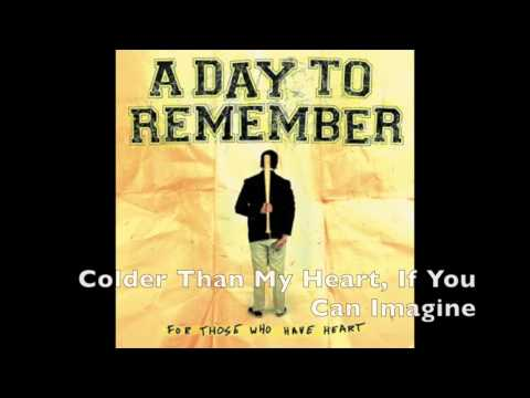 A Day to Remember - For Those Who Have Heart [FULL ALBUM]