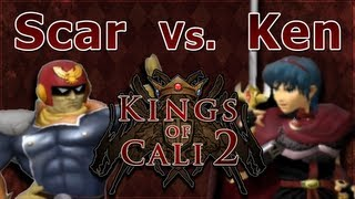 Kings of Cali 2 - Ken Vs. Scar - Best of 7 - Super Smash Bros. Melee - SSBM