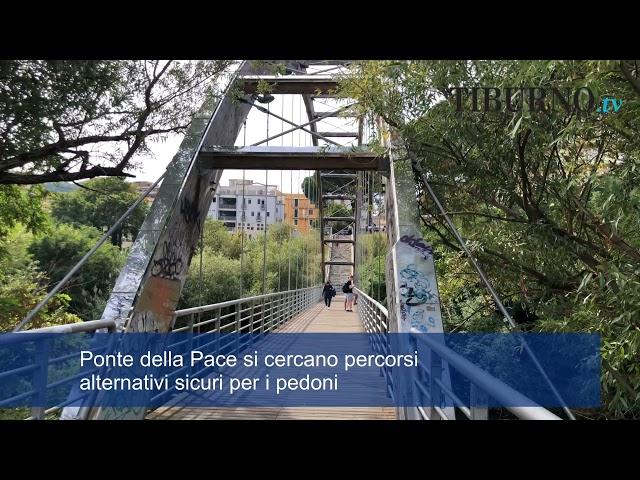 Problemi per i pendolari di Tivoli, tra poco chiuderà il Ponte della Pace