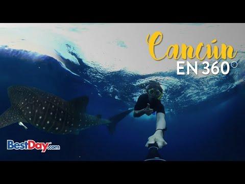 Viaja a Cancún en 360° con Alan X el Mundo | Historias BestDay.com