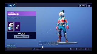 *NEW* Slushy Solider Snowman Fortnite Skin - 35 Duo Kills!