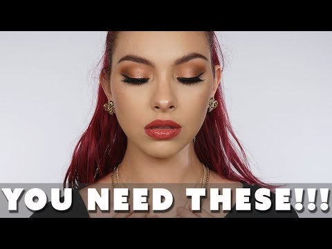 GRWM Trying Hot New Makeup 2018 thumbnail