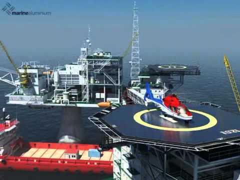 Marine Aluminium HeliDeck