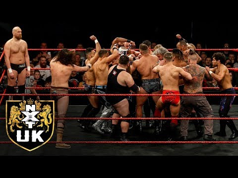 High-stakes 20-Man Battle Royal And More: NXT UK Highlights, April 2, 2020