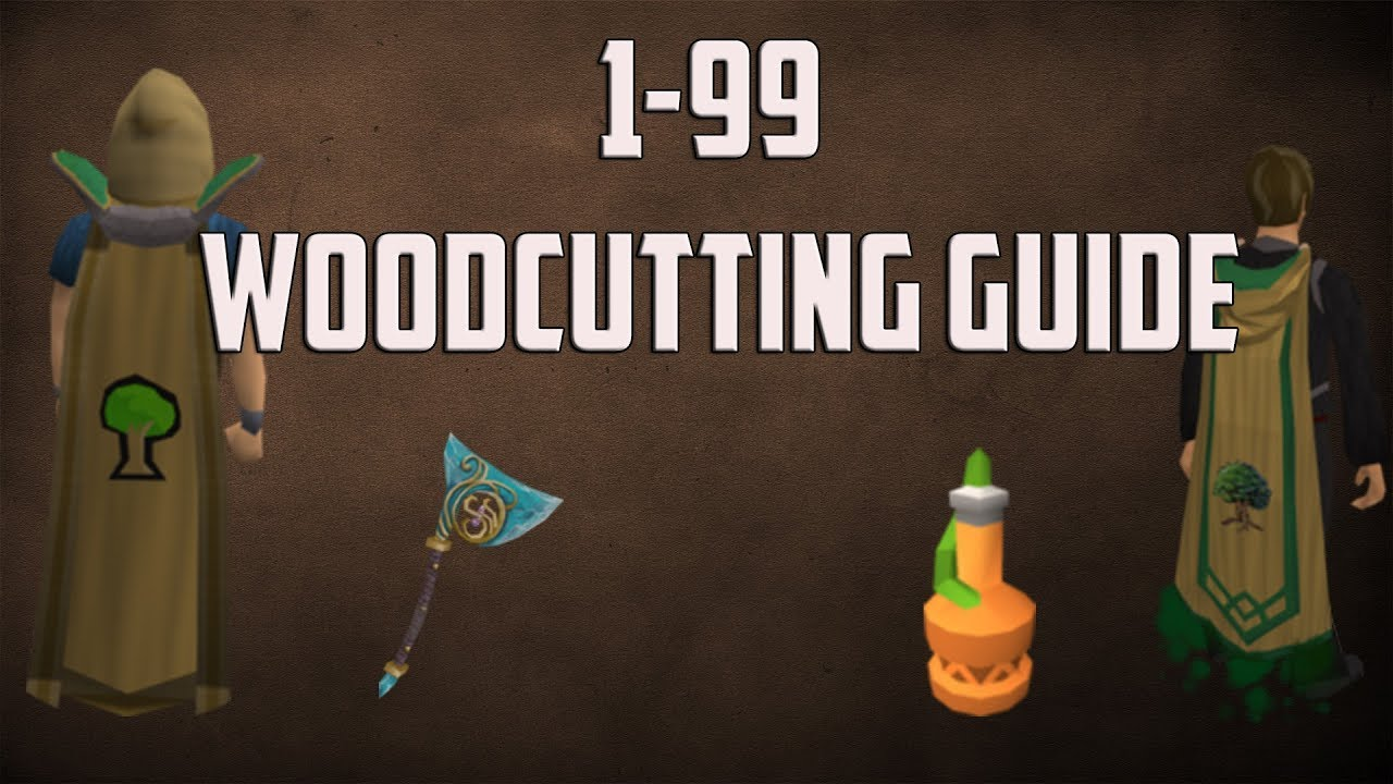 Runescape 3: 1-99 woodcutting guide.