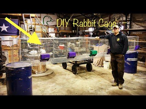 DIY Rabbit Cage Build (Part 2)