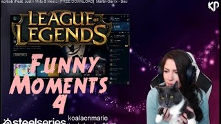 LOL FUNNY STREAM MOMENTS #4 - Faker | Imaqtpie | Pokimane | Tobias Fate | #LeagueOfLegends