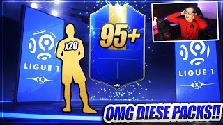 FIFA 19: 95+ LIGUE 1 TOTS IM PACK!! Heftiges 81+ Ligue 1 TOTS UPGRADE SBC PACK OPENING 😱😱