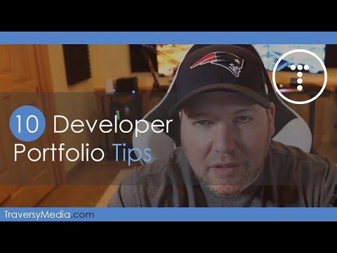 10 Web Developer Portfolio Tips