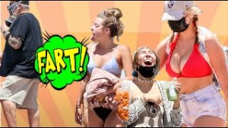 Wet Fart Prank At The Beach With The Sharter Toy