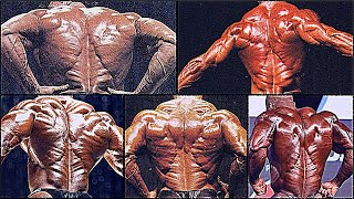 Top 10 Lower Backs (Christmas Trees) in Bodybuilding History!